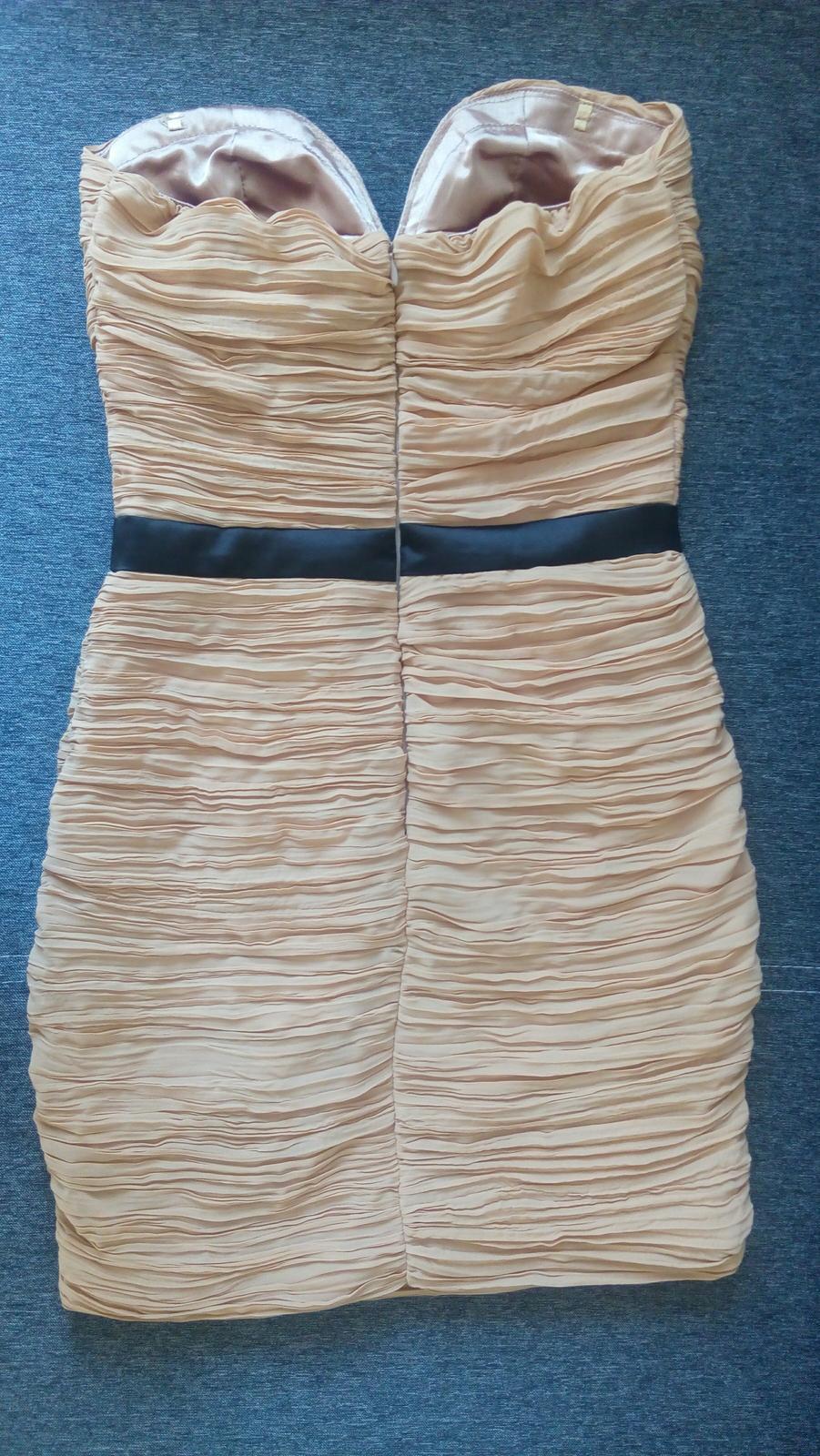 Koktejlové spoločenské šaty, 36 - Obrázok č. 3
