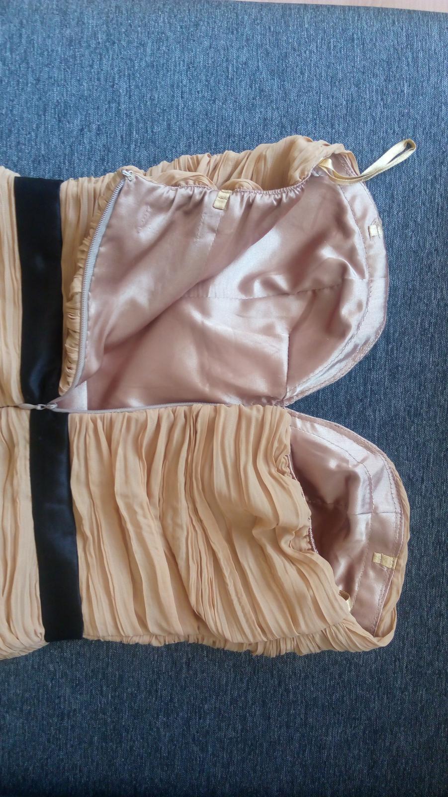 Koktejlové spoločenské šaty, 36 - Obrázok č. 4