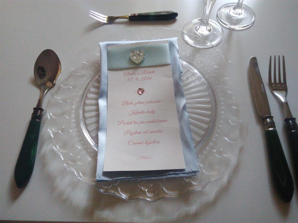 Dekoračné sklenené taniere - Obrázok č. 1