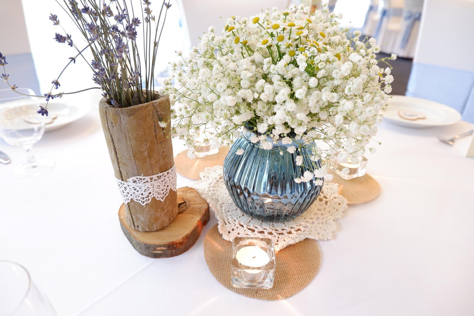 modrá váza - Obrázok č. 1