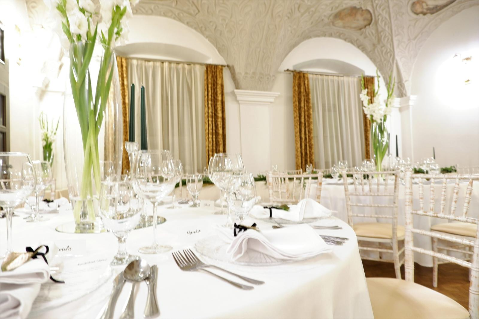 obrus na okrúhly stôl biely 300 cm - Obrázok č. 1