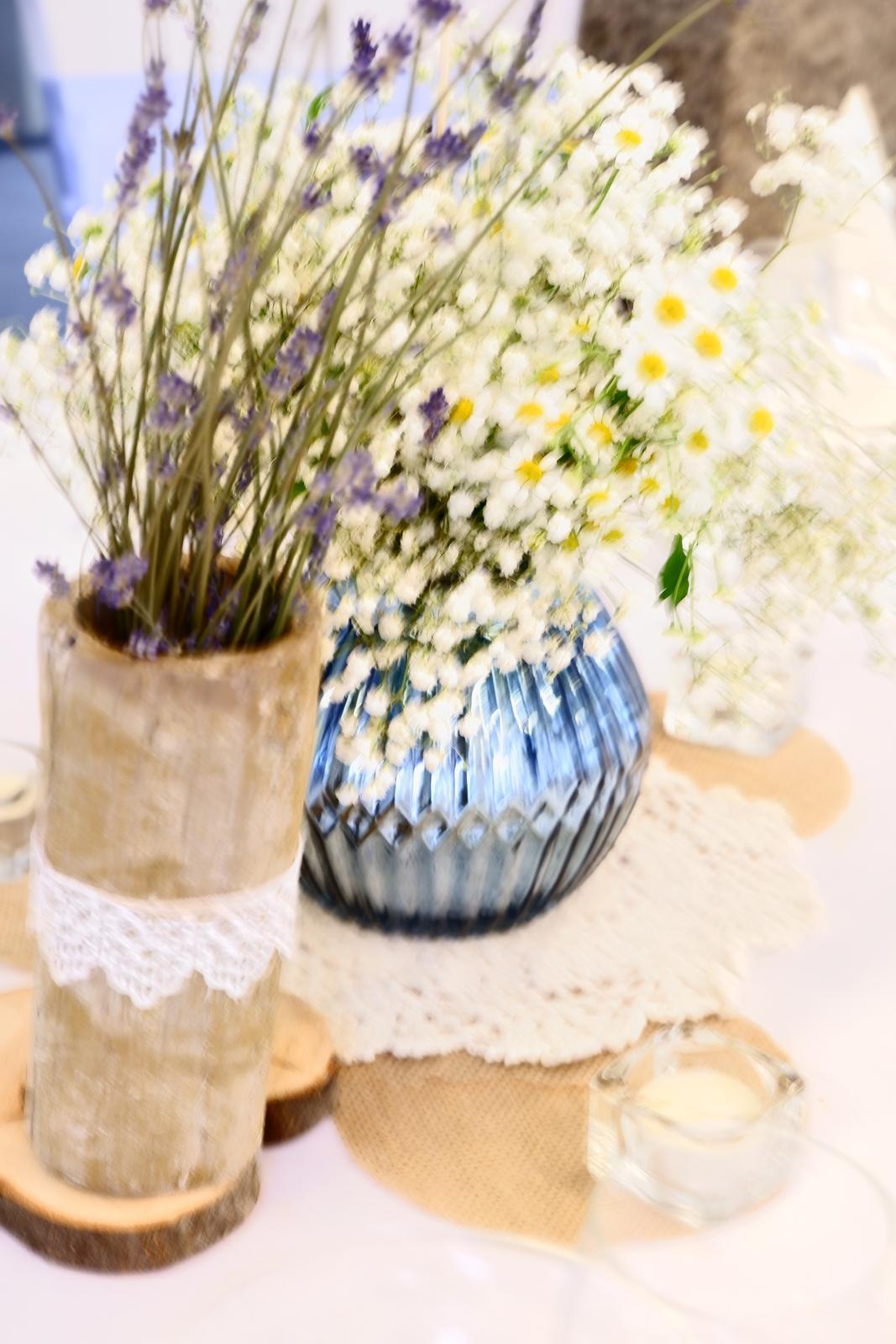 modré zrkadlové vázy - Obrázok č. 3