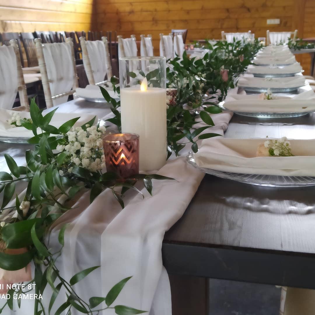 Stále obľúbené sú svadby v štýle greenery