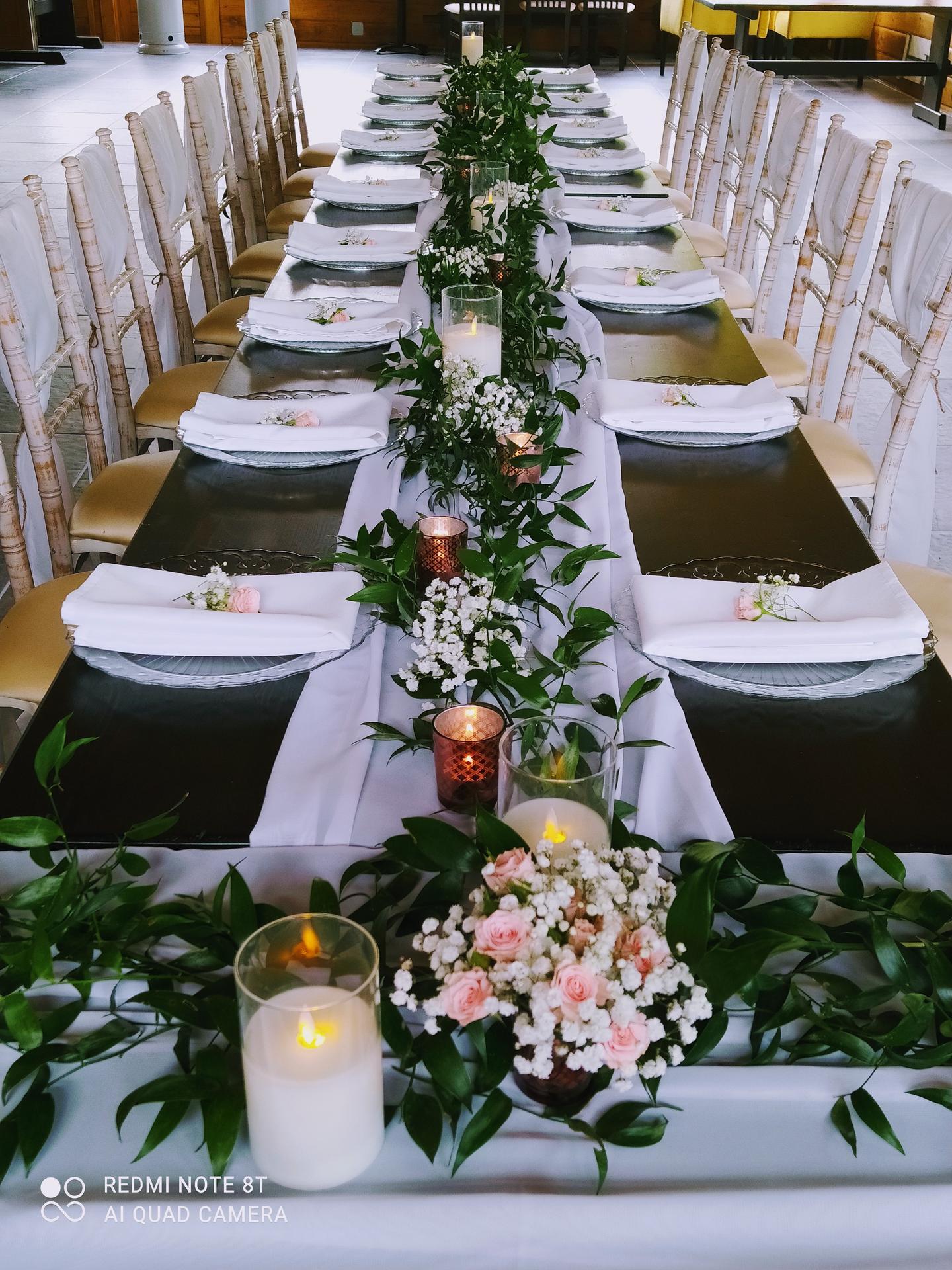 Stále obľúbené sú svadby v štýle greenery - Obrázok č. 8