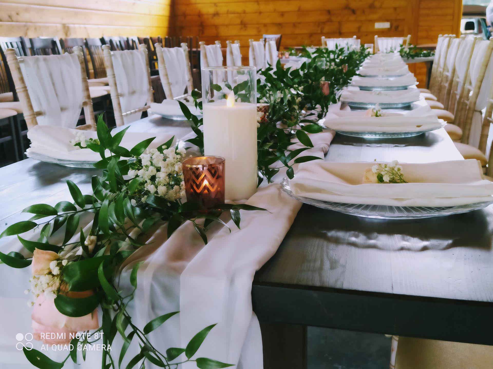 Stále obľúbené sú svadby v štýle greenery - Obrázok č. 9
