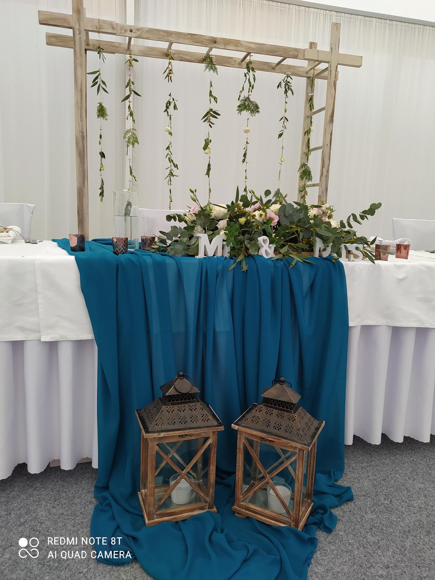 Svadobná výzdoba v stane na hotel Kochau Kováčová - Obrázok č. 8