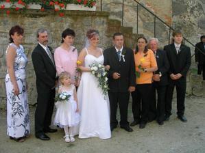S rodičema a svědkama