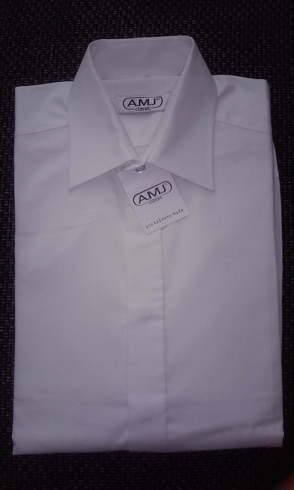 Košile na manžetové knoflíčky - Obrázek č. 1