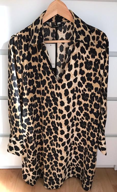 Zara leopardí šaty vel.M - Obrázek č. 1