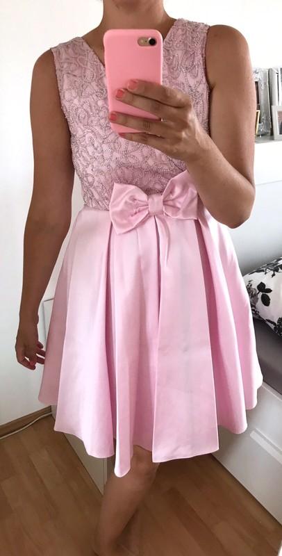Luxusní společenské šaty vel.38 - Obrázek č. 1