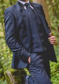 Pánsky svadobný oblek, 40