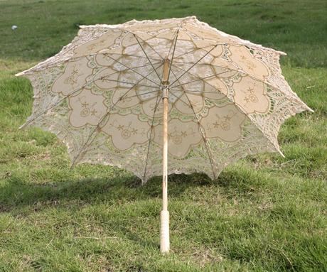 Dáždnik béžový - Obrázok č. 1