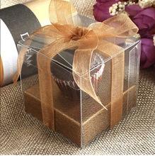 Box na koláčik - 100 ks hnedý - Obrázok č. 1