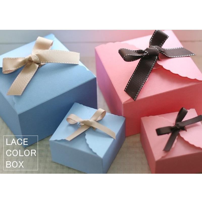 Box na koláčik alebo sladkosti - 20 ks modrý - Obrázok č. 1