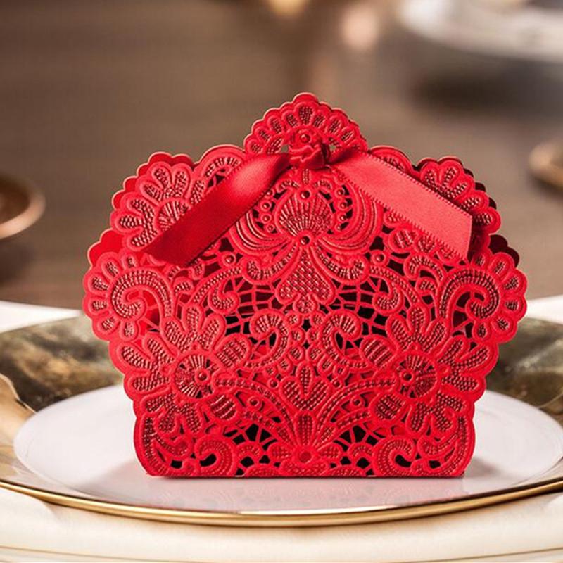 Krabička - 50 ks červená  - Obrázok č. 1