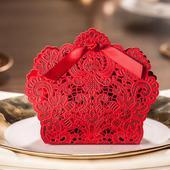 Krabička - 50 ks červená ,