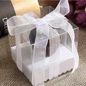 Box na koláčik - 100 ks biely,