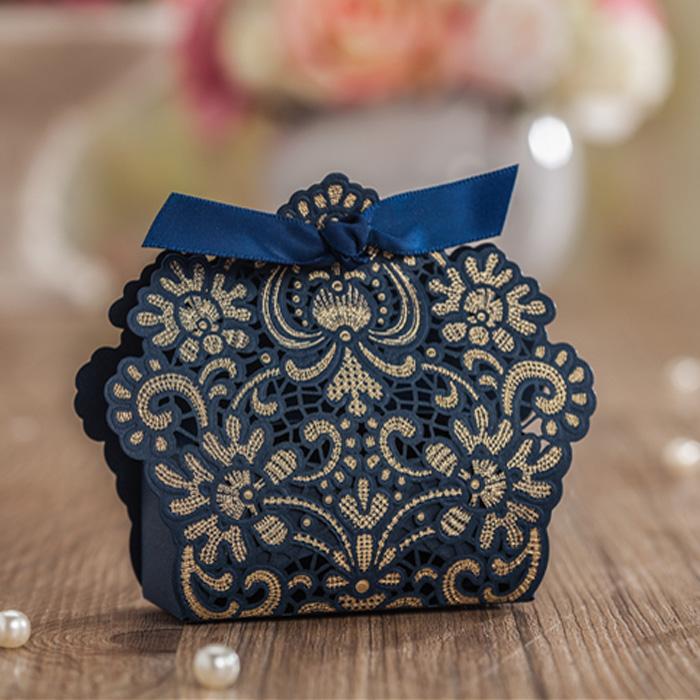 Krabička - 50 ks modrá - Obrázok č. 1