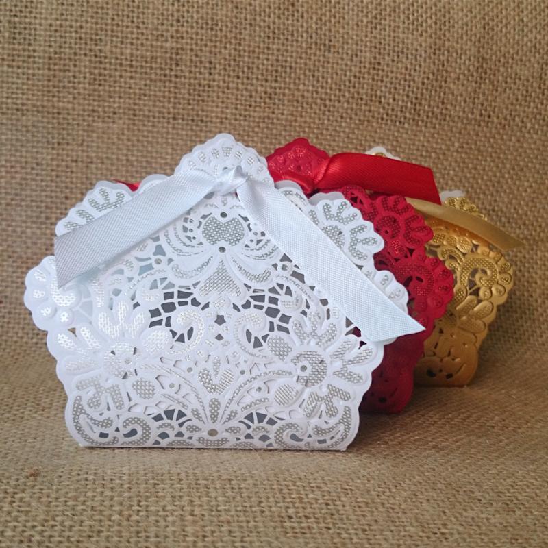 Krabička - 50 ks biela - Obrázok č. 1
