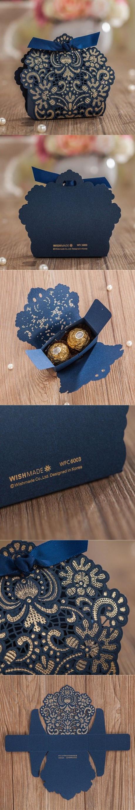 Krabička - 50 ks zlatá - Obrázok č. 2