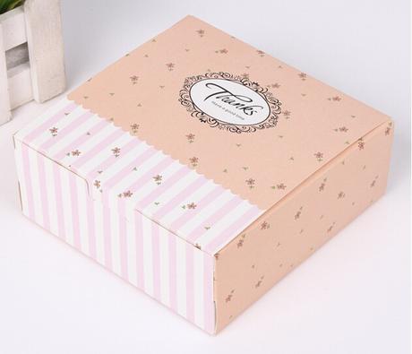 Box na zákusky 12,2x12,2x4.8 cm - 10 ks - Obrázok č. 1