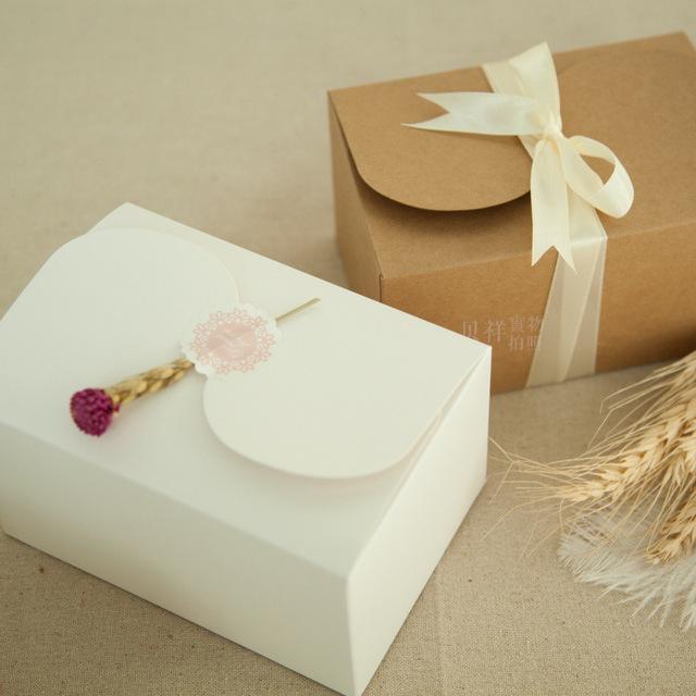 Box na zákusky biely 15x10,5x8,5 cm - 20 ks - Obrázok č. 1