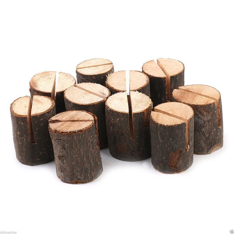 20 ks drevených stojančekov - Obrázok č. 1