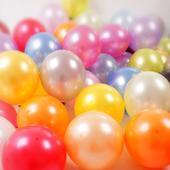 Latexové balóny rôzne farby - 100 ks,