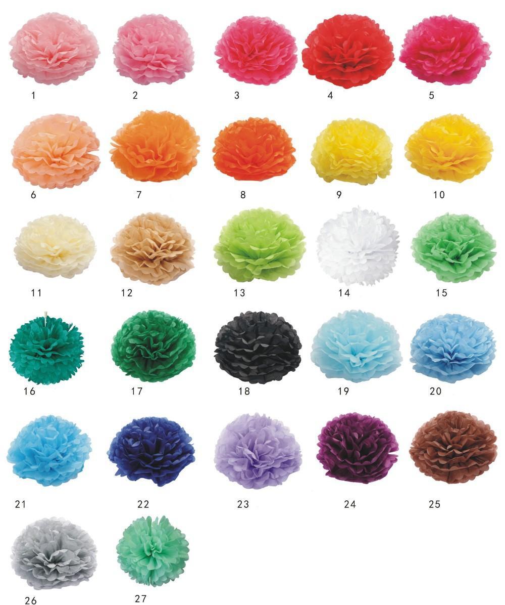 Pom pom rôzne farby 15 cm - Obrázok č. 1