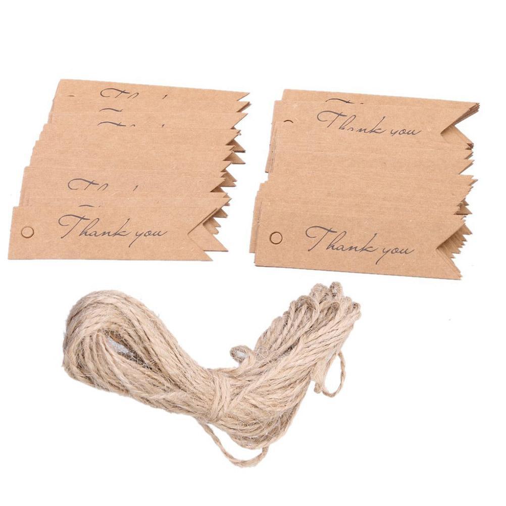 Papierové štítky - 100 ks - Obrázok č. 1