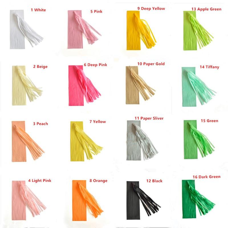 Strapčeky na stôl rôzne farby - 5 ks - Obrázok č. 2
