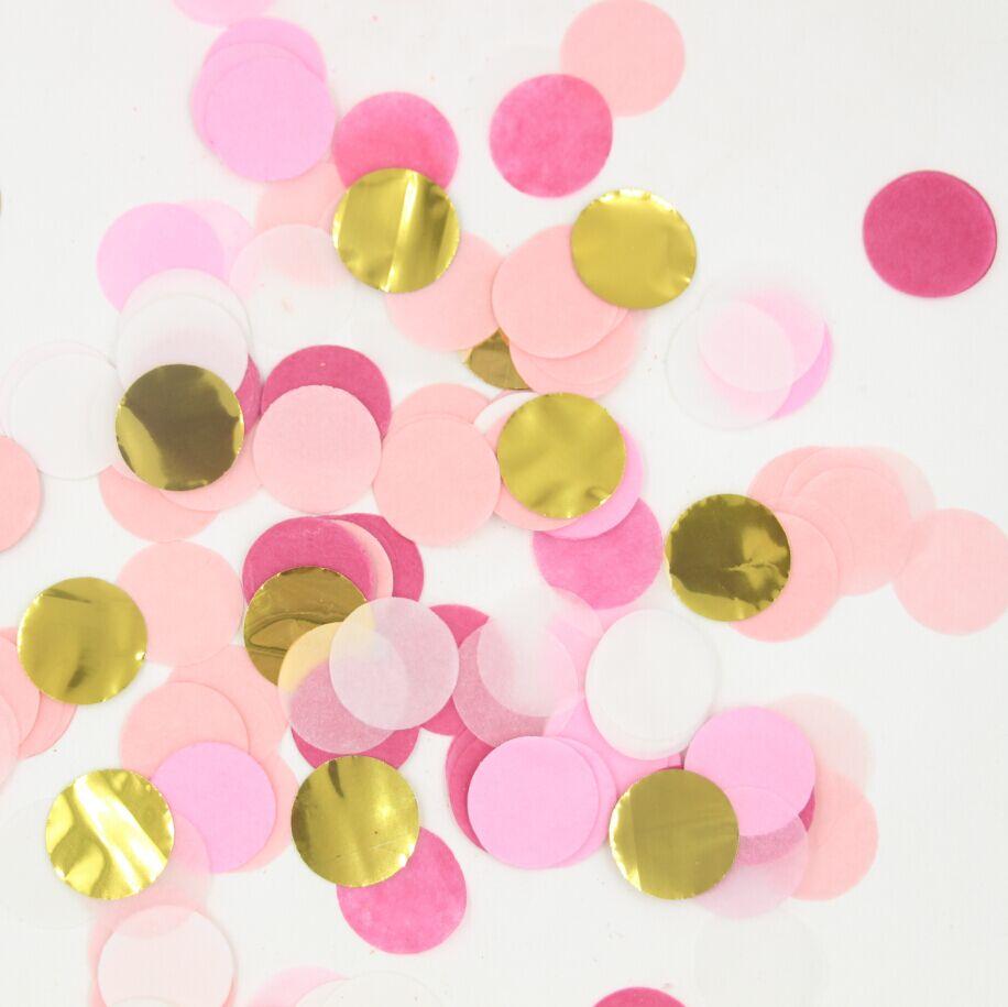 Konfety rôzne farby - 3000 ks - Obrázok č. 1