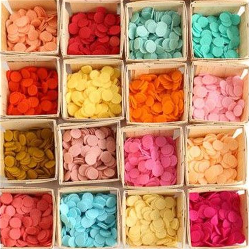 Konfety rôzne farby - 3000 ks - Obrázok č. 2