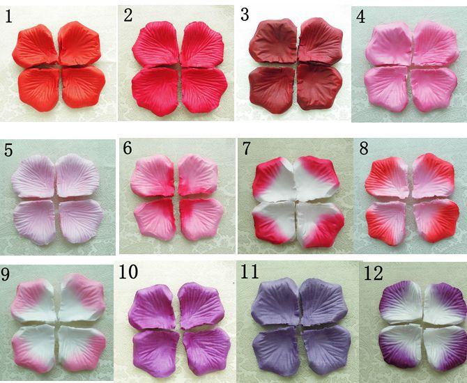 Lupene ruží rôzne farby - 100 ks - Obrázok č. 2