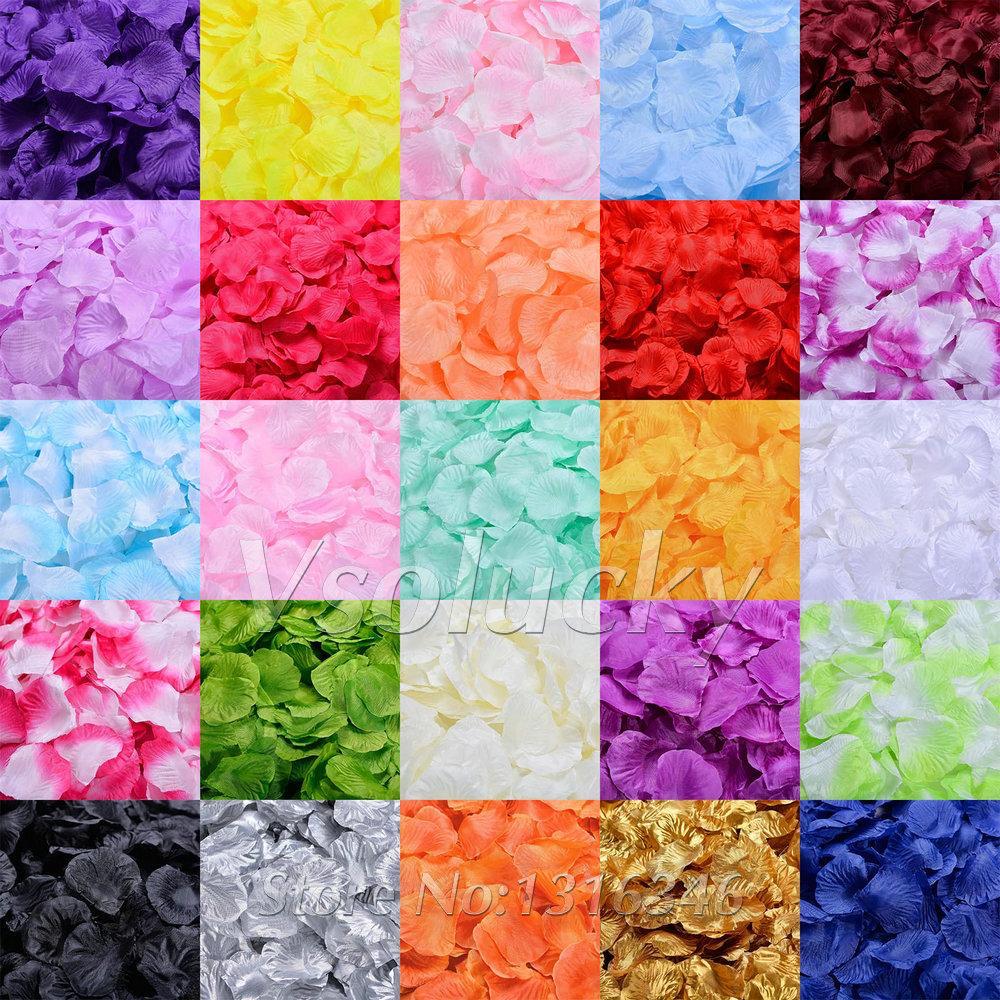 Lupene ruží rôzne farby - 500 ks - Obrázok č. 1