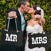 Tabuľky/písmenká Mr., Mrs.,