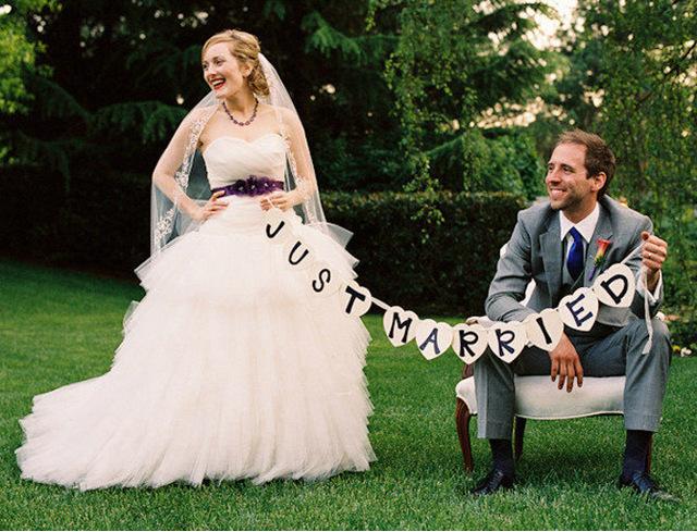 Písmenká Just Married - Obrázok č. 1