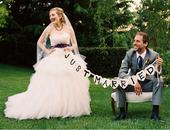 Písmenká Just Married,