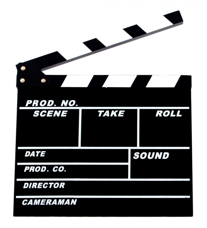 Filmová klapka na fotenie - Obrázok č. 1