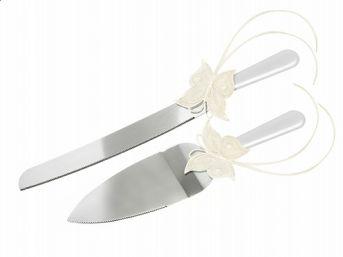 Nôž a lopatka na tortu Butterfly - Obrázok č. 1