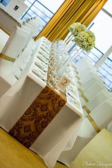 Obrus na stôl biely matný 140x170cm - Obrázok č. 1