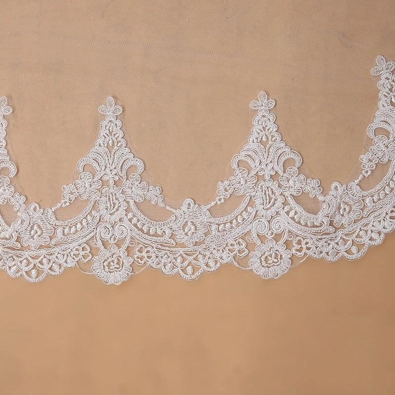 Závoj biely alebo ivory - 3 metre - Obrázok č. 3