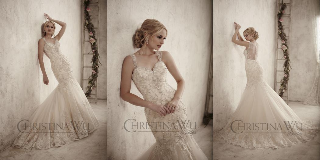 Nové svadobné šaty Značka Christina Wu - Obrázok č. 1