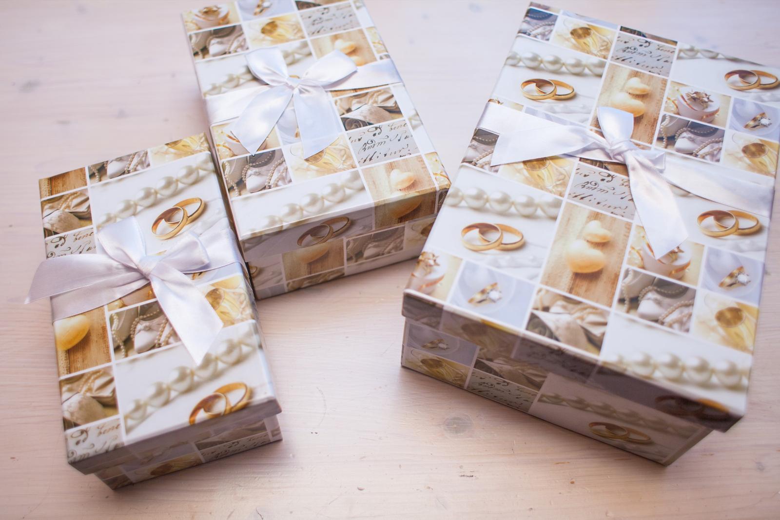 Krabičky s prstýnky - Obrázek č. 1