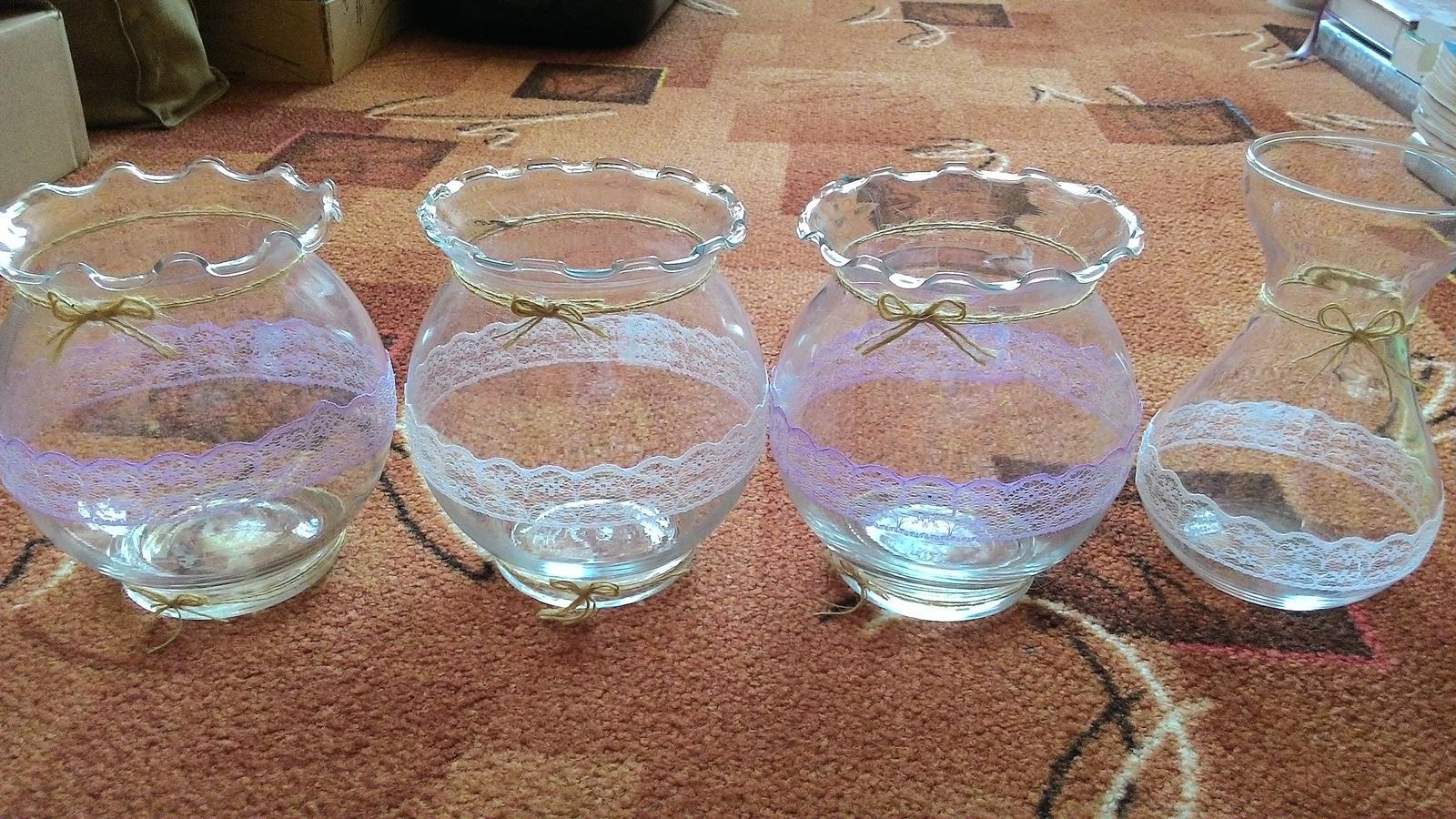 Skleněné vázy - Obrázek č. 1