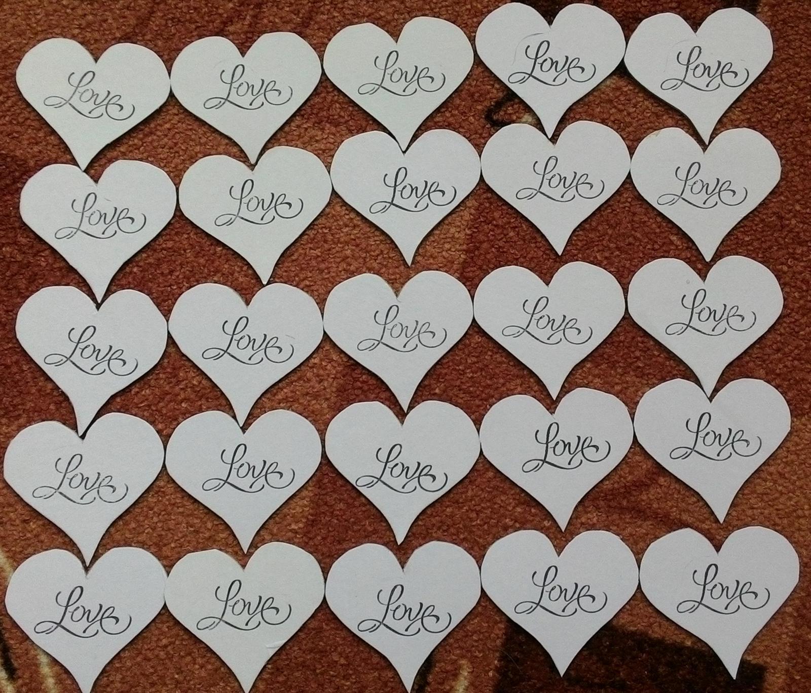 Srdce LOVE - Obrázek č. 1