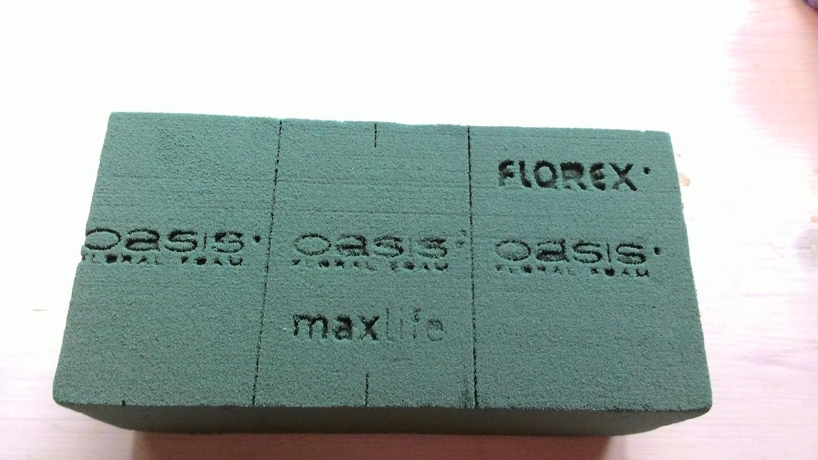 Aranžovací hmota Florex na květiny (pěna) - Obrázek č. 2