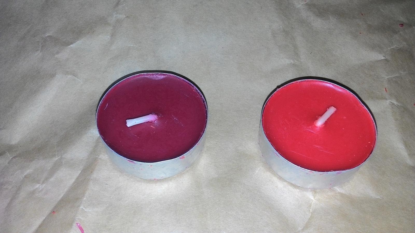 cajove svicky cervene/vinove - Obrázek č. 1