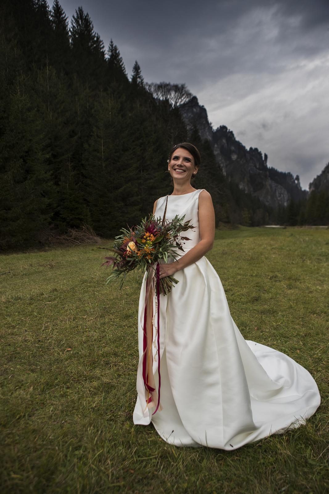 kvalitné svadobné šaty rosa clara  - Obrázok č. 1