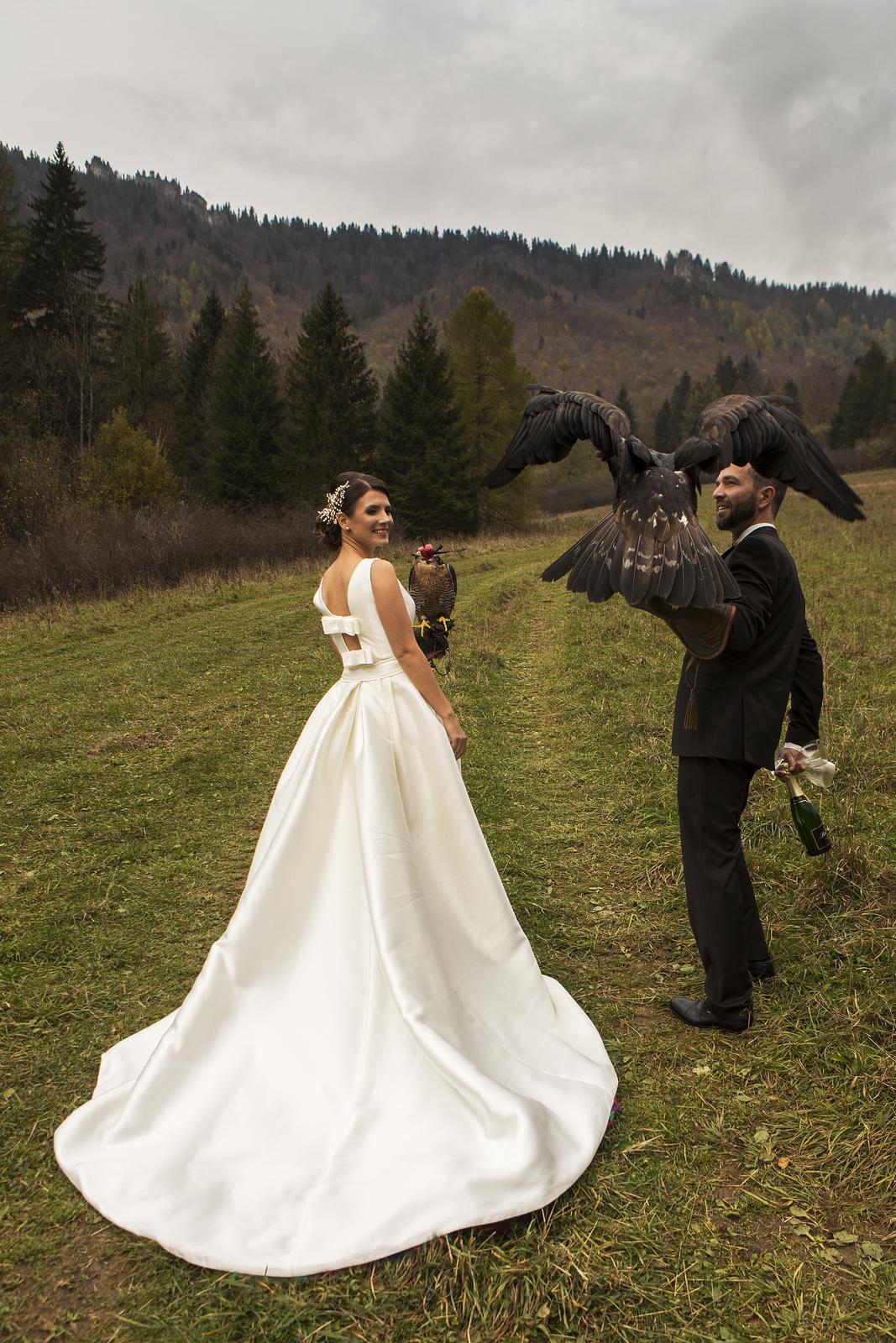 kvalitné svadobné šaty rosa clara  - Obrázok č. 2